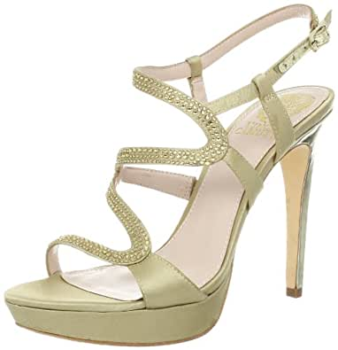 Vince Camuto Women's Joliee Sandal,Golden/Platino,8 M US