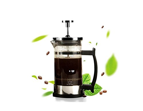 French Press Single Serving Coffee Espresso Maker Stainless
