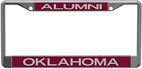 Stockdale Oklahoma Sooners Metal Alumni Inlaid Acrylic License Plate Frame
