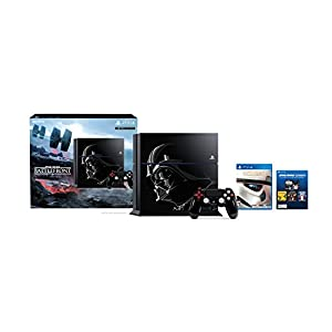Best Epic Trends 41NWby6rXrL._SS300_ PlayStation 4 500GB Console - Star Wars Battlefront Limited Edition Bundle [Discontinued]