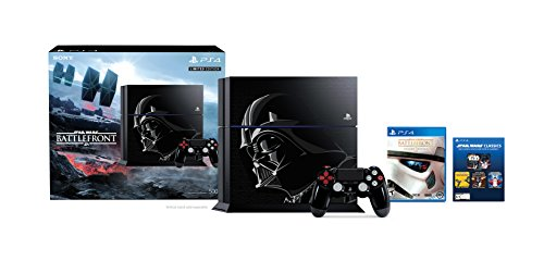 PlayStation 4 500GB Console - Star Wars Battlefront Limited Edition Bundle [Discontinued] by Sony