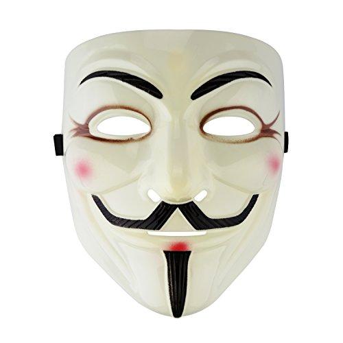 V for Vendetta Mask Costume Accessory