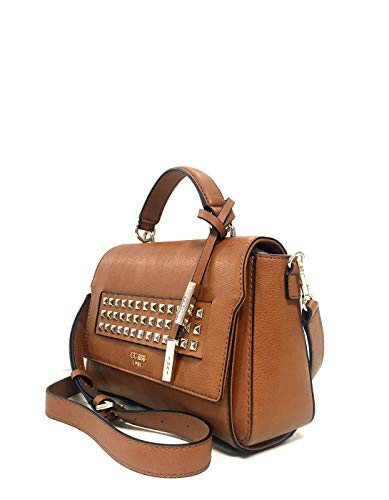 Guess shoulder shoulder Brown bag studded bag TOP MORITZ wffqtHPr