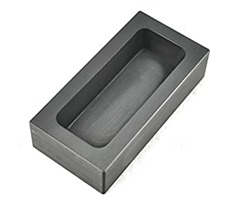 High Purity Refining Graphite Casting Melting Ingot Mold for Gold Silver Metal 65ML