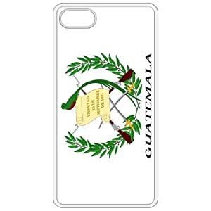 Guatemala Coat Of Arms Flag Emblem White Apple Iphone 4 - Iphone 4s Cell Phone Case - Cover