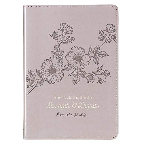 Strength & Dignity Slimline LuxLeather Journal Proverbs - Journal Slimline