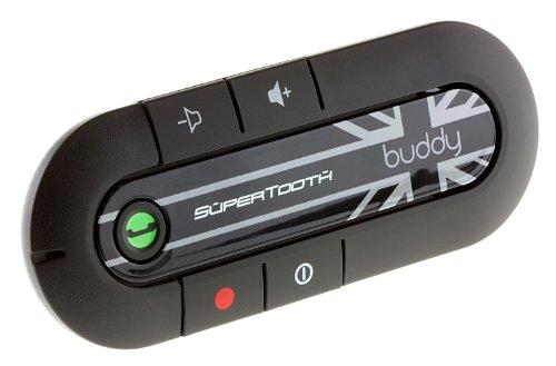SuperTooth BTBUDDYUJ Buddy Bluetooth-Freisprecheinrichtung für die Sonnenblende mit Union Jack Design