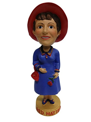 Red Hatter Red Hat Society Bobblehead Limited ()