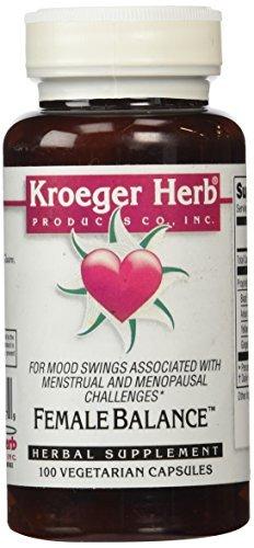 Kroeger Herb Female Balance Capsules, 100 Count by Kroeger Herb