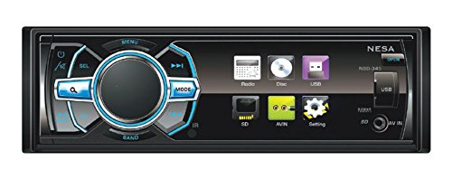 NESA DVD-1002 One Din In-Dash DVD Player with USB/SD