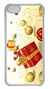 Customized iphone 5C PC Transparent Case - Presents Personalized Cover