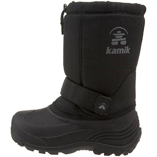 ed Winter Boot (Toddler/Little Kid/Big Kid), Dark Brown, 5 M US Big Kid (Kamik Kids Rocket)