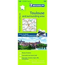 Toulouse & Surrounding Areas Zoom Map 129