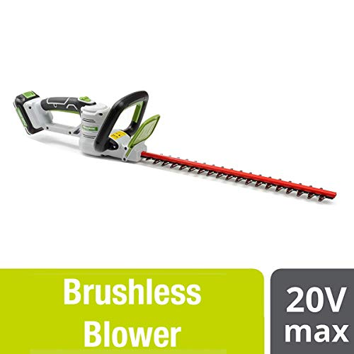 POWERSMITH 18 Inch Cordless Electric Hedge Trimmer with 20V Battery and Charger