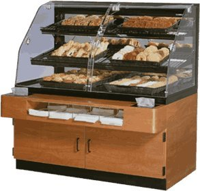 Serve Refrigerated Countertop Display Case - 2