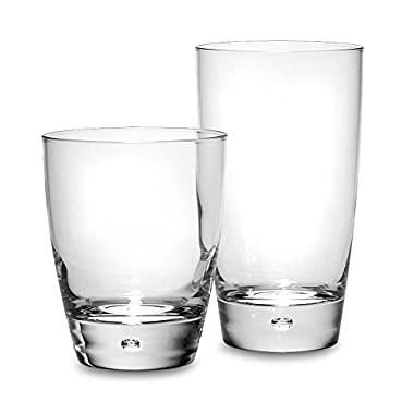 Dailyware™ Luna 16-Piece Set, Durable Glass Material, Elegant Style