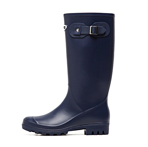 Wellington Lady Martin Lluvia De Rain Botas Boots Azul Goma 66xnArg