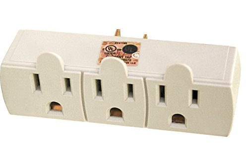 Price comparison product image POWTECH 3 Outlet Extender Wall Adapter [UL Listed]- 7803AA