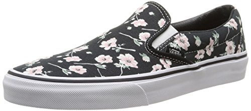 Vans Unisex Classic Slip-On Skate Shoe (Vintage Floral-Bigrphite, 9 Womens / 7.5 Men US)