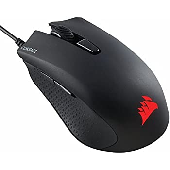 Corsair CH-9301011-NA Gaming Harpoon RGB Gaming Mouse, Backlit RGB LED, 6000 DPI, Optical