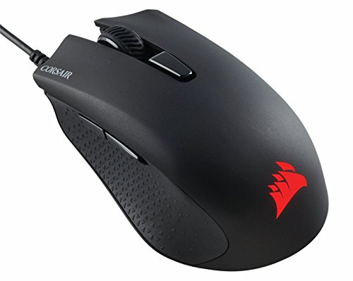 Corsair CH-9301011-NA Gaming Harpoon RGB Mouse, Backlit RGB LED, 6000 DPI, Optical