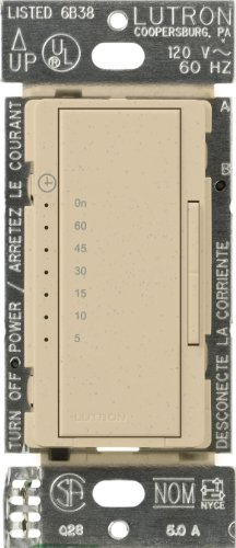 Lutron MA-T51-DS Maestro Countdown Timer, Desert Stone