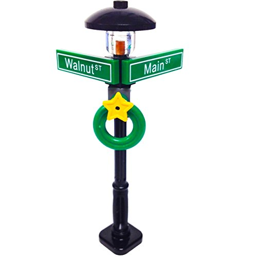Lego MinifigurePacks: Holiday City/Town Street Sign and Lamp Post