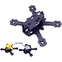 Usmile X2 TLE 88mm Micro Brushless Carbon Fiber Quadcopter Quad Drone Frame for Indoor Outdoor FPV racing Support for 1104 1102 motor 2030 2035 1930 props 2s 300-450mah battery