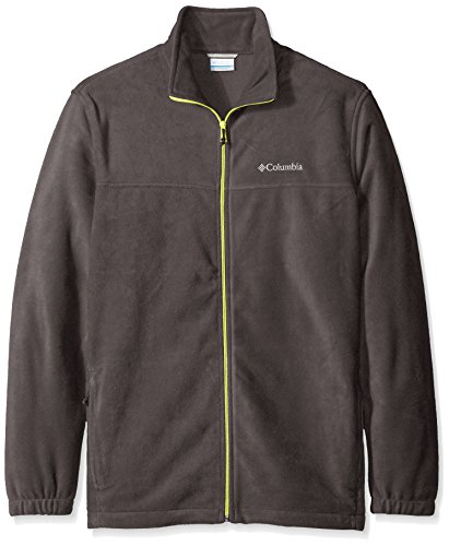 (Columbia Men's Steens Mountain Full Zip 2.0 Soft Fleece Jacket, Shark/Voltage,)