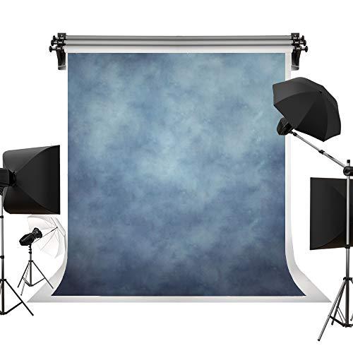Kate 5x7ft/1.5x2.2m(W:1.5m H:2.2m) Blue Background Portrait Photography Abstract Texture Backdrop Photography Studio Props Photographer Kids Children ()