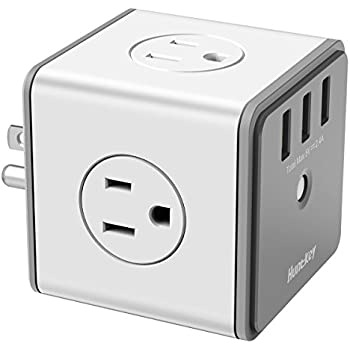 Amazon Com Belkin 1 Outlet Surge Protector With Usb Port