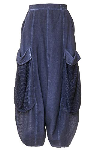 Kekoo Mujer Pantalón Para Kekoo Azul Pantalón wZ1wYS