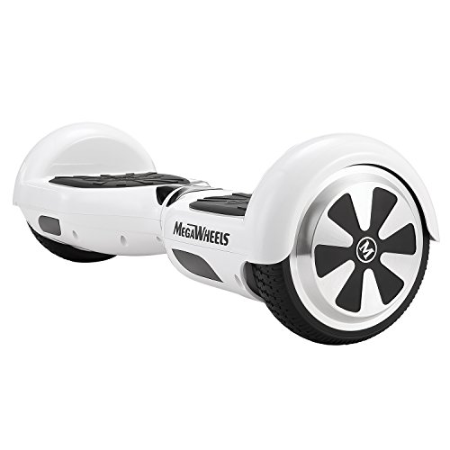 MegaWheels Hoverboard UL 2272 Certified Self-Balancing Smart Scooter (White) by MegaWheels (Image #7)