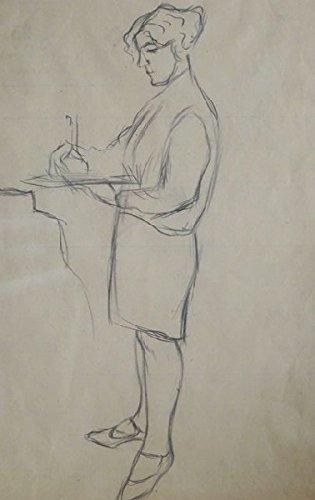 Female figures sketch