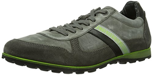 basso Grau Bikkembergs Uomo 641026 a collo Sneaker Grau Grigio qvPxgw1