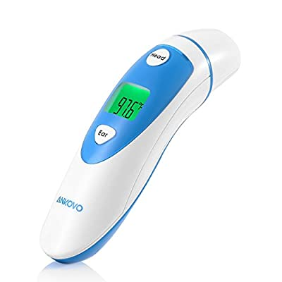 ANKOVOMedicalDigitalInfraredForeheadandEarThermometer with CEandFDAApproved