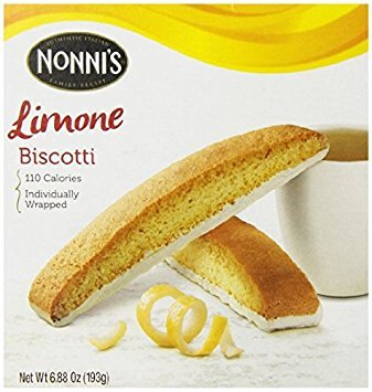 Nonni's Limone Biscotti, 6.88 Ounce (Pack of 3)