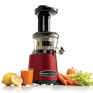 Omega VRT402R HD - Exprimidor eléctrico, 150 W, color rojo: Amazon.es: Hogar
