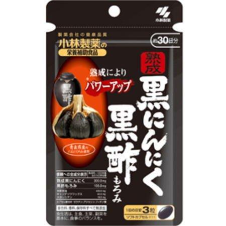 熟成黒にんにく 黒酢もろみ(90粒×6個セット) B012AA5W6E