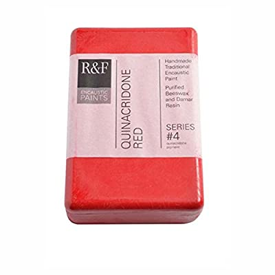R&F Encaustic 333ml Paint, Quinacridone Red