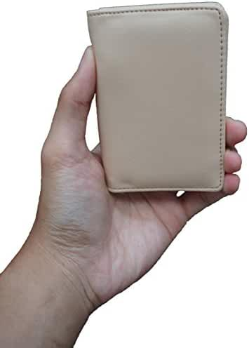 Wallets for Men - Slim Wallet Pocket Covered, L 4.4 x W 3 x H 0.4 Inches