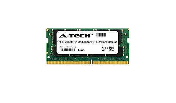 A-Tech 16GB Module for HP EliteBook 840 G4 Laptop /& Notebook Compatible DDR4 2666Mhz Memory Ram ATMS266635A25832X1