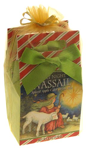 Spiced Apple Cider Wassail Gift Set Bundle - Silent Night Christmas Holiday by Hickoryville
