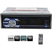 EinCar 1 Din Car Stereo Headunit Autoradio Deck New Design In Dash Car DVD CD Player LCD Screen Audio FM Radio With USB SD AUX Input MP3 Free Wireless Remote Control
