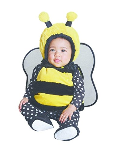 Baby Infant Girls Boys Plush Bumble Bee Costume Size 6-12 Months