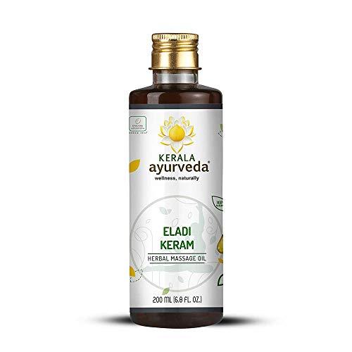 Kerala Ayurveda Eladi Keram – Coconut Oil Based Ayurvedic Massage Oil for Body & Scalp, Balances Kapha, Moisturizes…