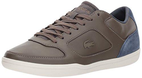 Lacoste Mens Court-minimal 417 1 Sneaker Light Kaki