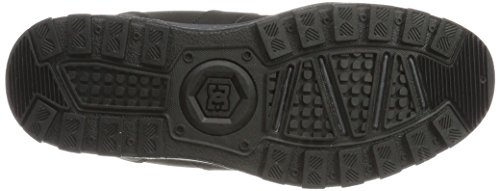 DC Shoes Woodland, Stivali Classici Uomo Nero (Black/Black/Grey - Combo)