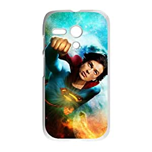 Motorola G Cell Phone Case White Superman M2352057