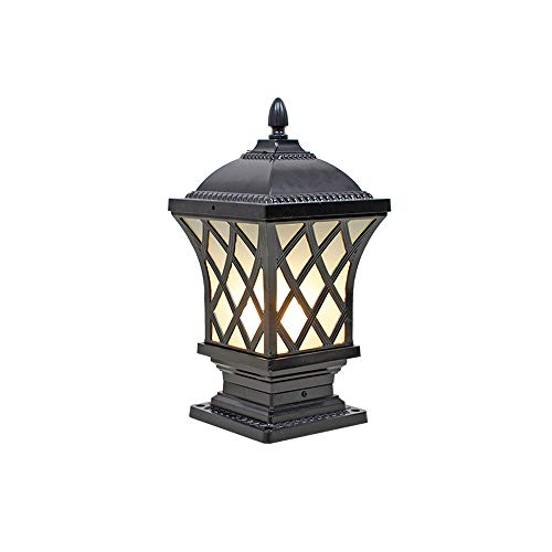 Solar Powered Outdoor Bollard Light in US - 8